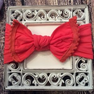 Other - Baby Girls Coral Knot Bow Headband